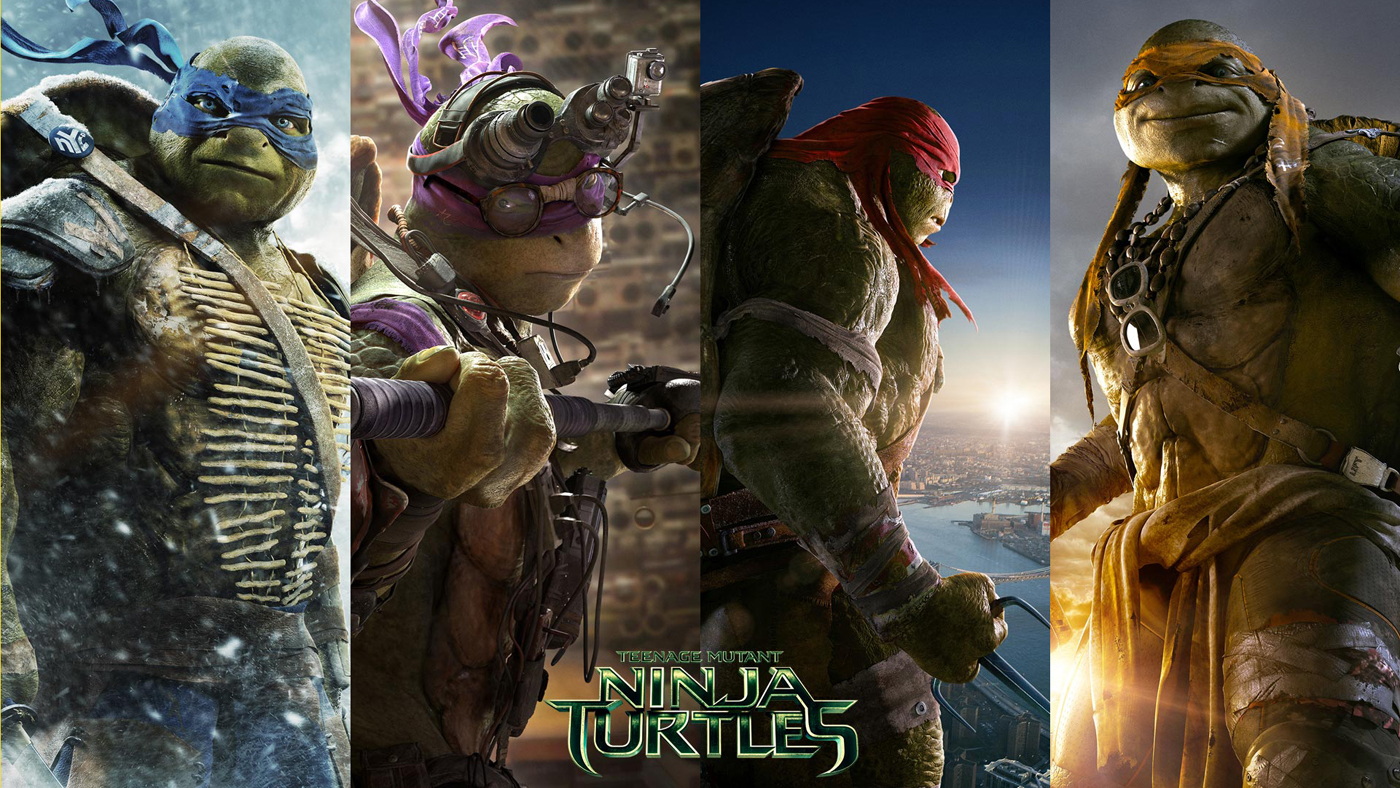 The Teenage Mutant Ninja Turttles