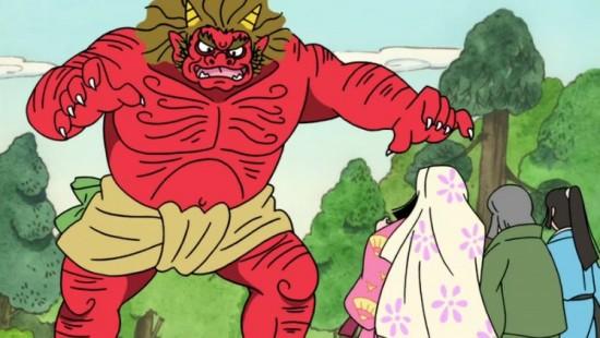 Oni from Folktales from Japan (Furusato Saisei Nippon no Mukashi Banashi)